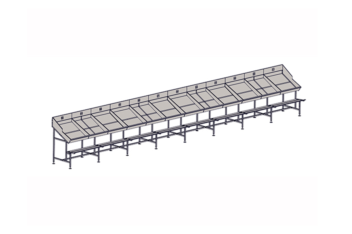 Weighing and Sorting Line