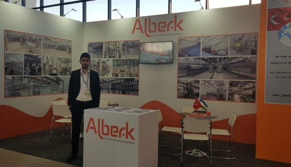 Alberk at Uzbekistan Agroworld 2019 Exhibition